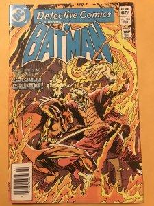 Detective Comics #523 : DC 2/83 Fn/VF; Solomon Grundy Vs Bats