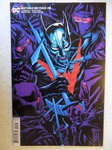 BATMAN BEYOND # 45 MANUPAL VARIANT