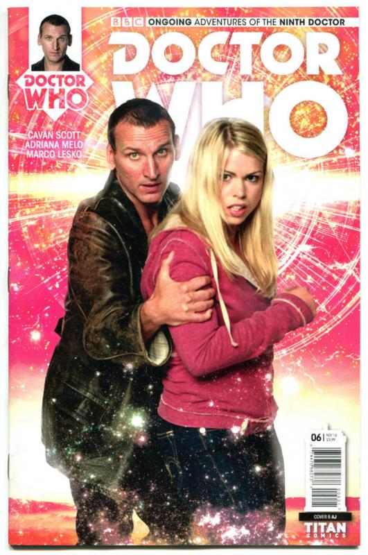 DOCTOR WHO #6 B, NM, 9th, Tardis, 2016, Titan, 1st, more DW in store, Sci-fi