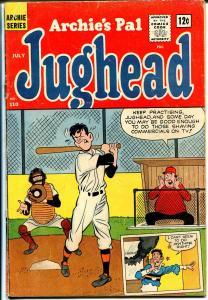 Archie's Pal Jughead #110 1964-MLJ-Betty-Veronica-baseball cover-VG
