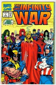 INFINITY WAR #1 (VF/NM) Modern Age Marvel ID23L