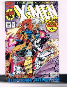 The Uncanny X-Men #281 VF Marvel Comics Comic Book Wolverine Storm 1990 DE13