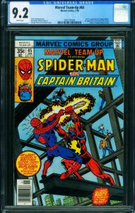Marvel Team-up #65 CGC 9.2 1st Captain Britain In U.S, 1977 2001735002