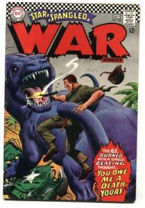 STAR SPANGLED WAR STORIES-#133-DINOSAUR cover DC- FN