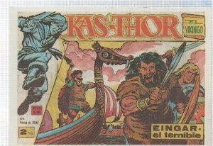 Ficha tebeo numerada 571: Kas-Thor el vikingo, edit Maga, dibujos de Don lawr...