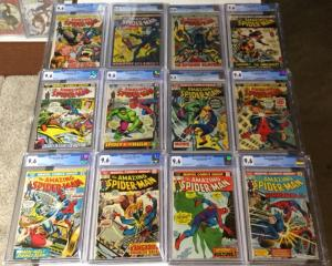 Amazing Spider-man 102-147 All Cgc 9.4-9.6 Includes 119 120 121 135