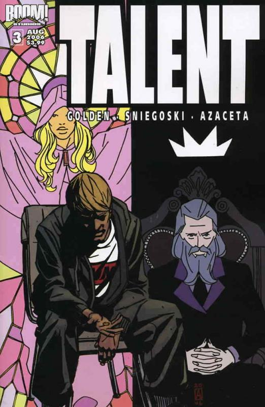 Talent #3 VF/NM; Boom! | save on shipping - details inside