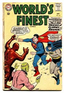 WORLDS FINEST #144 comic book 1964-DC COMICS-BATMAN-SUPERMAN-ROBIN