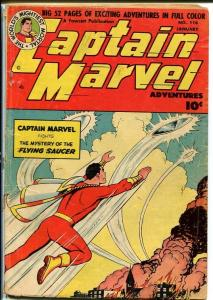CAPTAIN MARVEL ADVENTURES #116-UFO COVER G