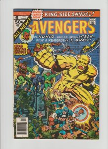 The Avengers Annual #6 (1976) VF+ 8.5 George Perez Art!!