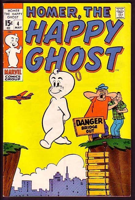 HOMER, THE HAPPY GHOST-#4-LAST ISSUE-L@@K VF-