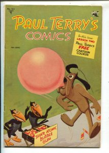 Paul Terry's Comics #123 1955-St John-Mighty Mouse-painted cover-Paul Terry c...