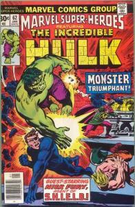 Marvel Super-Heroes (1967 series) #62, VF (Stock photo)