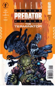Aliens vs Predators vs Terminator # 1-4