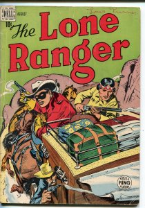 THE LONE RANGER #14 1949-DELL-STAGE COACH-TONTO-vg