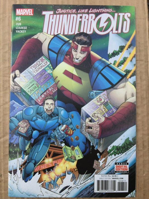 Thunderbolts #6 (2016)