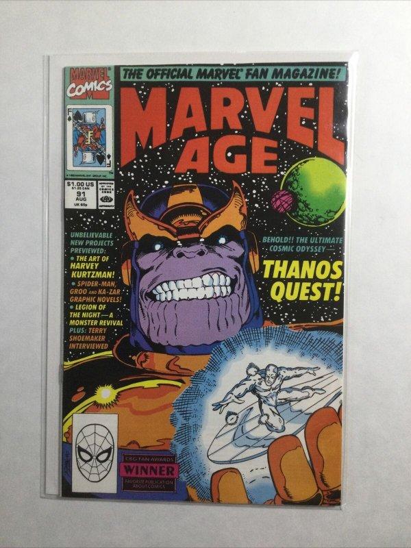 Marvel Age 91 Near Mint Nm Marvel