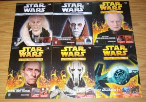 Star Wars: the Official Figurine Collection set of (12) FN/VF