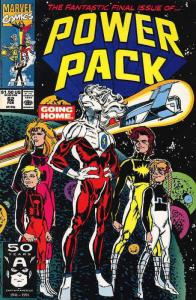 Power Pack #62 VF/NM; Marvel   save on shipping - details inside