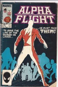 Lot of 10 Alpha Flight Marvel Comics # 11 12 13 14 15 16 17 18 19 20 BH4