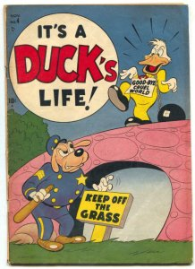 It's A Duck's Life  #4 1950- Timely Funny Animal comic VG/F