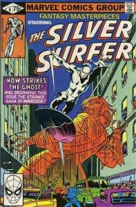 FANTASY MASTERPIECES #8, VF, Silver Surfer, 1979 1980, Buscema, Marvel