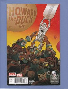 Howard The Duck #3 NM 3rd Appearance of Gwenpool 2016