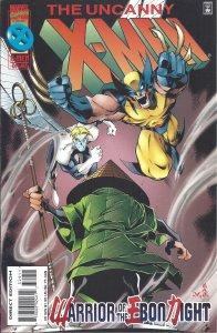 Uncanny X-Men #329 (1996) -Warrior of the Ebon Night - Wolverine, Doctor Strange