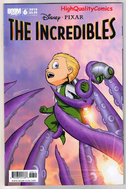 The INCREDIBLES #6, VF, Movie, Dash, Mirage, Syn, 2009, more Disney in store