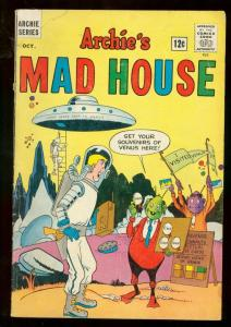 ARCHIE'S MADHOUSE #29 1963 ARCHIE COMICS VAMPIRE CATS VG-