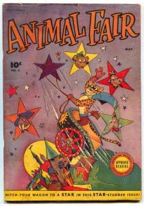 Animal Fair #3 1946-Fawcett Funny Animal comic FN-