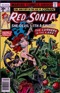 Red Sonja #4 ( 1st Series ) - 8.0 or Better