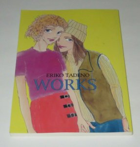 Eriko Tadeno Works GN TPB NM High Grade Nudity Adults Only Lesbian Tales Mature