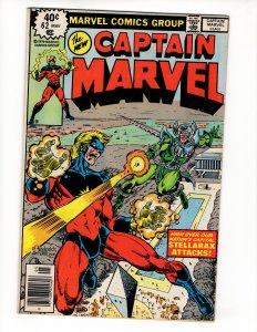 CAPTAIN MARVEL #62 (VG/VG+) 1¢ Auction No Resv!