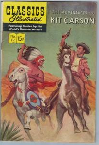 Classics Illustrated 112 (original) Oct 1953 FI+ (6.5)
