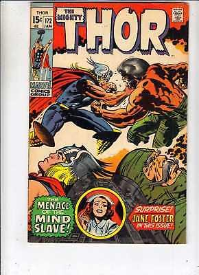 Thor 172 Mighty Thor 172 strict VF+ 8.5 High-Grade Jack Kirby  more@Kermitspad!