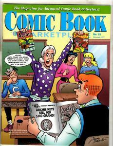 Lot Of 2 Comic Book Marketplace Magazines # 52 74 Green Lantern Archie JK3