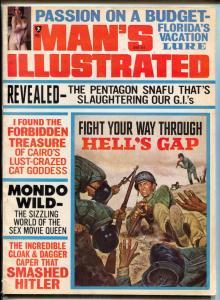 Man's Illustrated Magazine March 1968- Florida- Mondo Wild FN