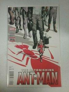 THE ASTONISHING ANT-MAN #9 MARVEL COMICS 2016 NW132
