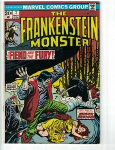 Frankenstein (The Monster Of…) #7 VG marvel comics 1973 - stan lee - dracula