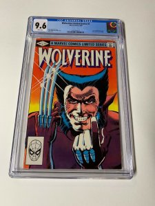 Wolverine Limited Series 1 Cgc 9.6 White Pages 1982 Marvel