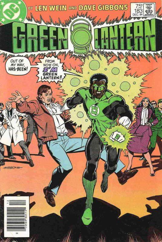 Green Lantern (2nd Series) #183 VF/NM; DC | save on shipping - details inside