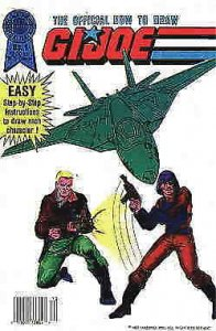 Official How to Draw G.I. Joe #1 VG; Blackthorne   low grade comic - save on shi