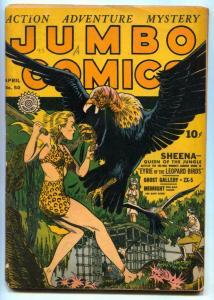 Jumbo Comics #50 1943- SHEENA buzzard cover VG