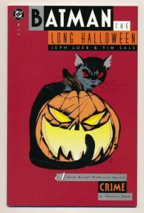 BATMAN The LONG HALLOWEEN #1 DC Comics 1996 Tim Sale, NM (PF447)