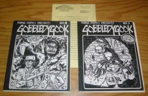 Gobbledygook #1 & 2 FN+ teenage mutant ninja turtles with original receipt RARE