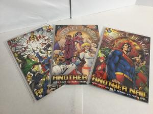Justice League Another Nail 1-3 Lot Set Run Nm Near Mint DC Comics A49