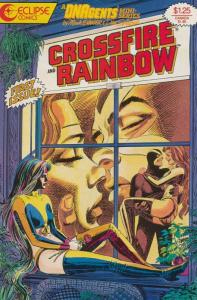 CROSSFIRE & RAINBOW (1986)1-4 vgf Dave Stevens on ELVIS