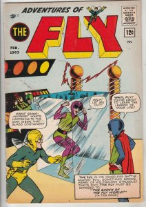 Adventures of the Fly #24 (Feb-63) VF+ High-Grade The Fly, Fly-Girl