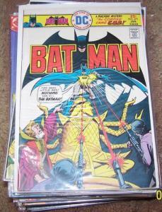 Batman #271  1976, DC COMICS macabre mystery bronze age